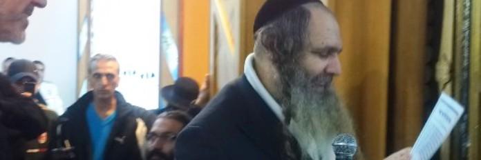 """הרב שלום ארוש בתיקון עם הרב שלמה עופר שליט""""א"""